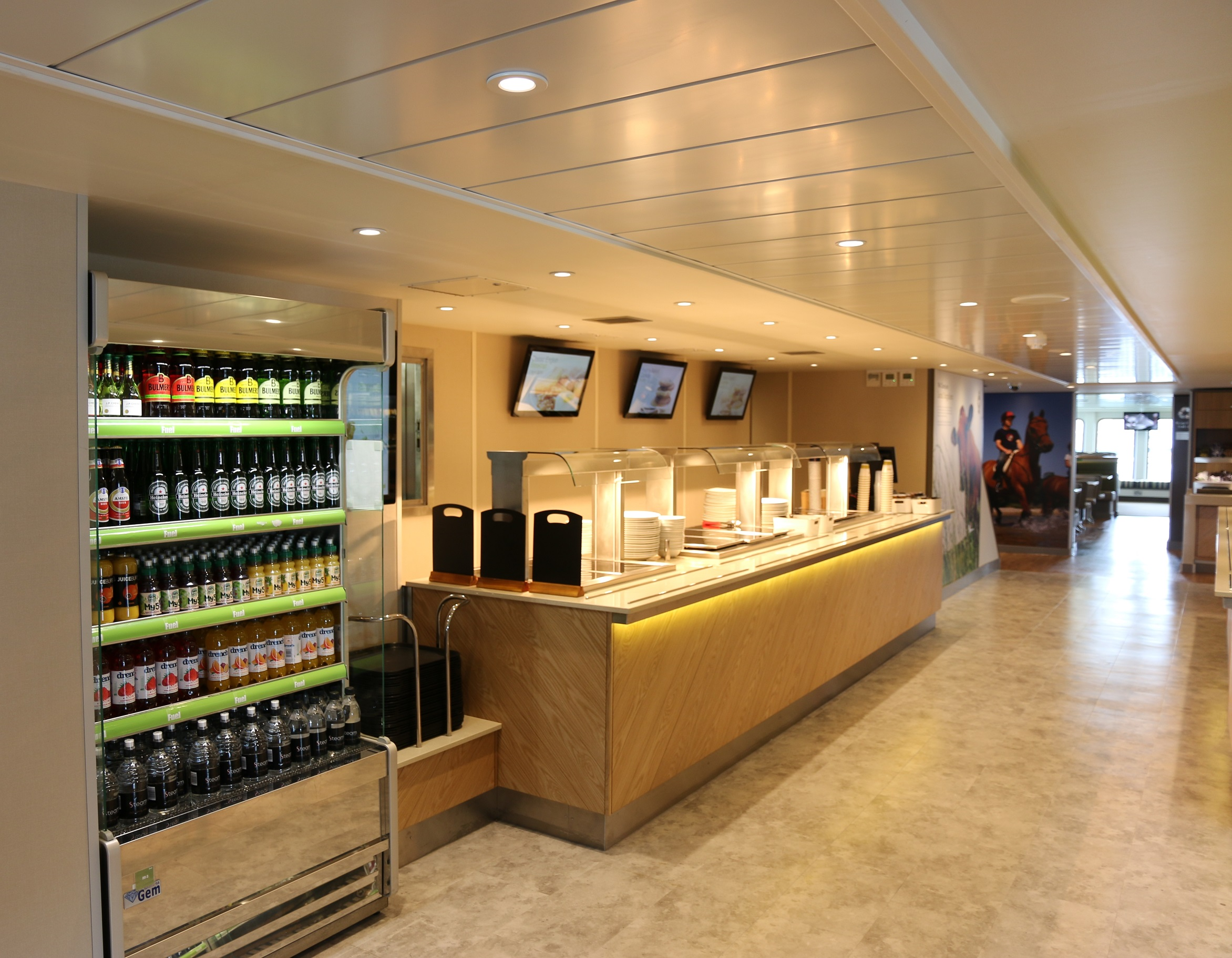 Red Funnel Osprey servery small